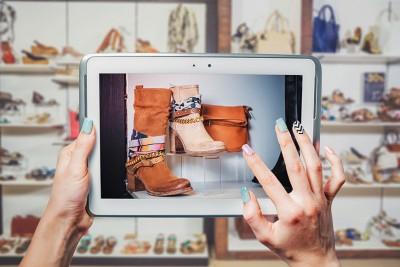 iPad shopping
