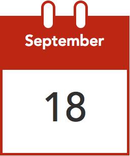calendar Sep 18